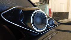 Custom Car Audio, Custom Cars, Speaker Mounts, Car Sounds, Diy Home Crafts, T5, Audi A4, Speakers, Technology