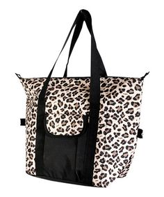 Take a look at this Cheetah Convertible Cooler Bag by The Royal Standard on #zulily today!