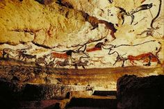 Ice Age Cave Paintings Altamira Spain    The Altamira paintings found in Northern Spain is presumed to be about 11,000-19,000 years old. It is supposed to have been painted by Magdalenian people between 16,000 and 9,000 BC.