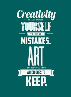 """Creativity & Art"" #typography #poster #inspiration #design"