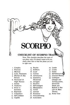 Dating en cancer kvinna som en Scorpio man