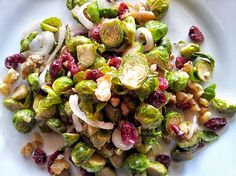 Napa Farmhouse 1885™: Roasted Brussels Sprouts Salad with Tahini Vinaigrette