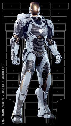 Iron Man mark XXXIX (Starboost)