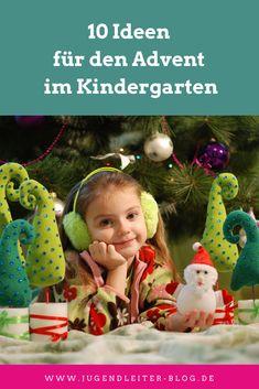 10 Ideen für den Advent im Kindergarten Kindergarten, Party, Blog, Christmas Ornaments, Holiday Decor, Anna, Winter, Advent Season, Christmas Time