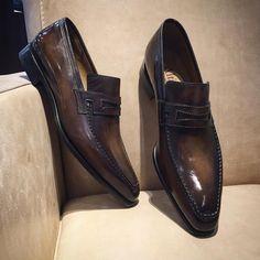 shoes - Altan Bottier Artisans Bottiers à Paris Men's Shoes, Shoe Boots, Dress Shoes, Shoes Men, Loafer Shoes, Loafers Men, Tan Color Shoes, White Shoes, Brown Formal Shoes
