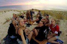 Surfcamp allemand à St Girons plage - été 2016