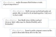 carlosca01: Cheap Date Ideas: Try DIYing