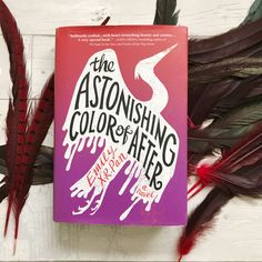 We're spending the week with our book date, THE ASTONISHING COLOR OF AFTER by Emily X.R. Pan. Check out this wonderful YA novel!
