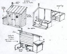 plan des wc secs garden party pinterest plans toilette et les toilettes. Black Bedroom Furniture Sets. Home Design Ideas