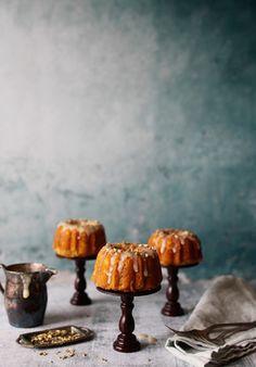 Good morning: toasted fennel & orange morning cakes