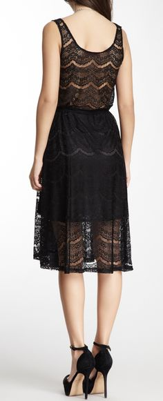 Lace dress..I would like this better if it were white