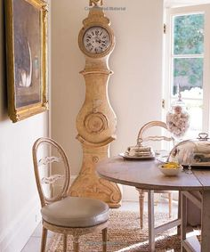 shabby chic grandfather clocks | to finish off the dining room i'd