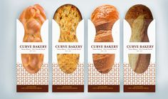 Packaging of the World: Creative Package Design Archive and Gallery: Curve Bakery