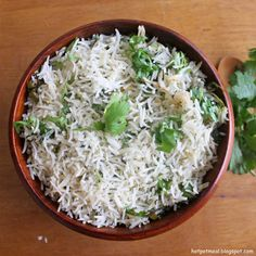 Hot Pot Cooking: Cilantro lime rice