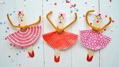 Pysseltips – så gör du ballerinor av glasspinnar