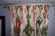 No-sew pinch pleat drapes