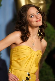 Marion Cotillard's lovely dimples