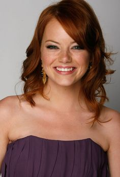 Emma Stone...god she is soooo pretty