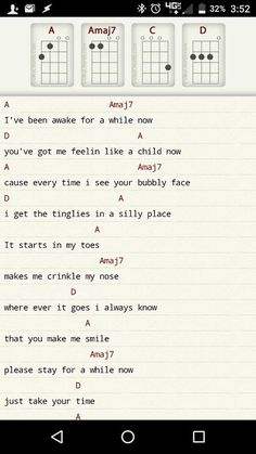 """Song """"Bubbly"""" ukulele chords and tabs by Colbie Caillat. Free and guaranteed quality tablature with ukulele chord charts, transposer and auto scroller. Mandolin Songs, Guitar Chords For Songs, Music Chords, Ukulele Tabs, Ukulele Songs, Piano Songs, Piano Music, Sara Bareilles, Pentatonix"""