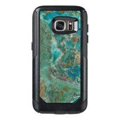 Blue Stone OtterBox Samsung Galaxy S7 Case