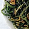 Slow-Roasted Green Beans with Sage - My mama made this for Thanksgiving and it was amazing.
