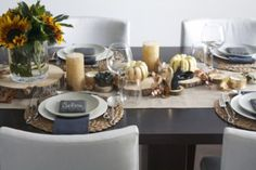 Holiday tablescapes #thanksgiving
