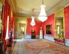 Audience Hall, Albertina State Rooms | Photo: 2016, © Albertina, Wien #AlbertinaStateRooms #AlbertinaPrunkräume State Room, Reception Rooms, Palace, Vienna, Lamps, Travel, Restore, Voyage, Lightbulbs