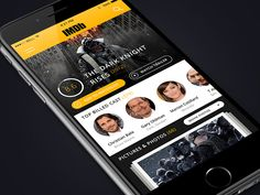 IMDB app redesign
