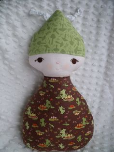 Baby Bitty Bug made by me using a Bit of Whimsy Pattern