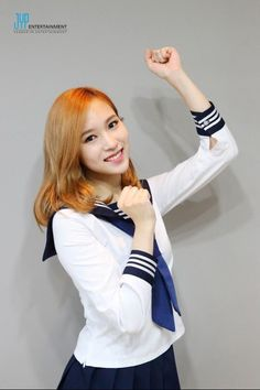 160518 TWICE wearing 'Cheer Up' MV costumes - Mina