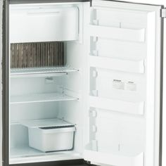 Dometic Americana Rm2554rbf Small Rv Gas Absorption Refrigerator Lp 120v 12v 5 C F In 2020 Small Rv Gas Storage Compartments
