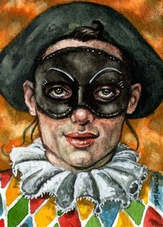 Art: Harlequin by Artist Mark Satchwill