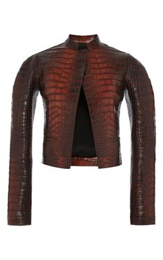 Copper Alligator Jacket by Salvatore Ferragamo for Preorder on Moda  Operandi  125,000.00 b530fd7a5d9
