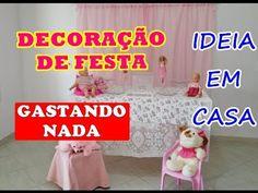 DECORAÇÃO DE FESTA SEM GASTAR NADA - USANDO O QUE VOCÊ TEM EM CASA - YouTube