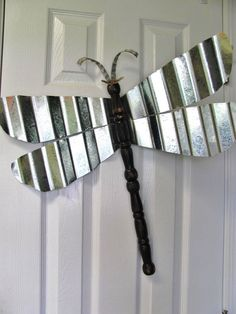Table Leg Dragonfly Wall or Garden Art Funky by LucyDesignsonline, $65.00