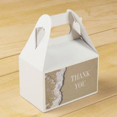 Beach Shore Favor Boxes