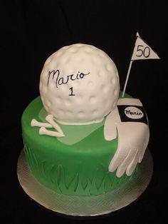 golf cake creation Maman gateau