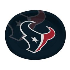 "Houston Texans 10"" x 12"" Paper Oval Platter/Case of 96 Tags: Houston Texans; Platters; NFL Tableware; Houston Texans party;Houston Texans party decorations;Houston Texans Platters; https://www.ktsupply.com/products/32786352333/Houston-Texans-10doublequote-x-12doublequote-Paper-Oval-PlatterCase-of-96.html"