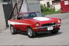 Due to its front engine-rear drive design, light weight and low cost, the Chevrolet Vega is...