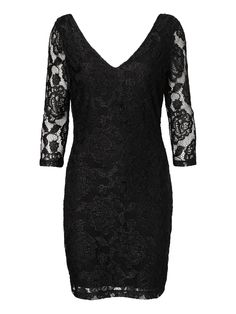 NOISY MAY LACE 3/4 SHORT DRESS - Dresses - Shop by Category