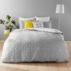 Axel Quilt Cover Set $89.00