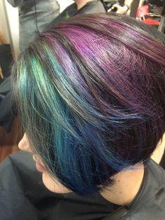 Beautiful healthy hair colour with Organic Colour Systems No Limits range. #haircolour #ocs