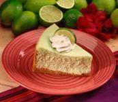 Baked Vanilla And Kaffir Lime Cheesecake