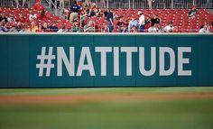#Natitude ♥ Washington Nationals Baseball