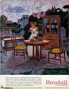 Awesome Broyhill Premier Invitation Vintage Furniture Ad