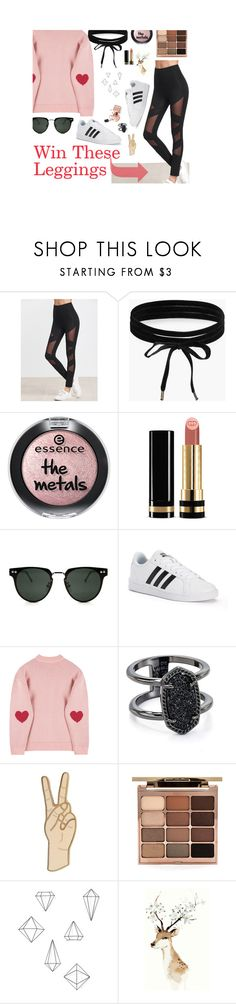 """""""Contes: Shein"""" by velvet-rat ❤ liked on Polyvore featuring Boohoo, Gucci, Spitfire, adidas, Kendra Scott, Lucky Brand, Stila and Umbra"""