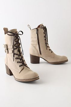 anthropologie buckled paddock boots. the brown ones are more practical, but i love how the cream one looks