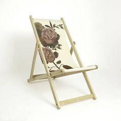 Eco Designer Rose Deckchair