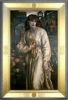 Dante Gabriel Rossetti - The Salutation of Beatrice