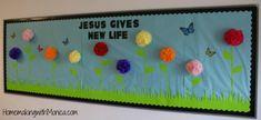 bulletin boards for pre-k classrooms | ... Appleseed Pre-K Bulletin Board » In Full Bloom Spring Bulletin Board